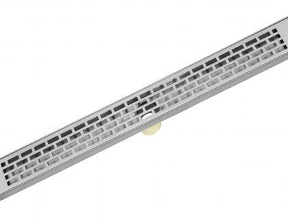 Luxe linear drain