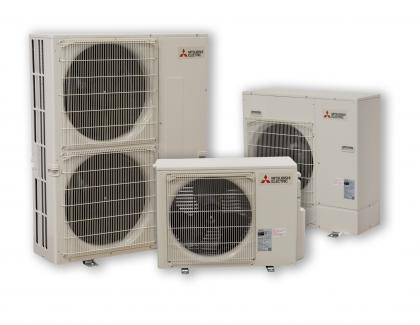 Mitsubishi Electric Trane HVAC USP Series PU 7 Family Shot