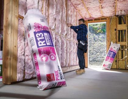 owens corning pink next gen insulation