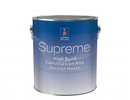 Sherwin-Williams Supreme High Build Interior Latex Paint
