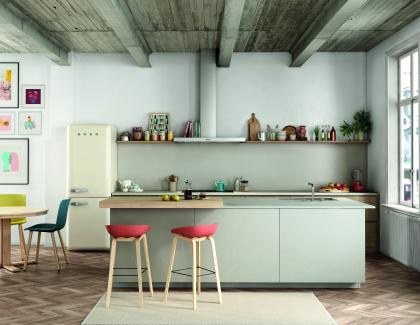 Silestone Kitchen Loft collection Camden