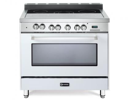 Verona range oven in white