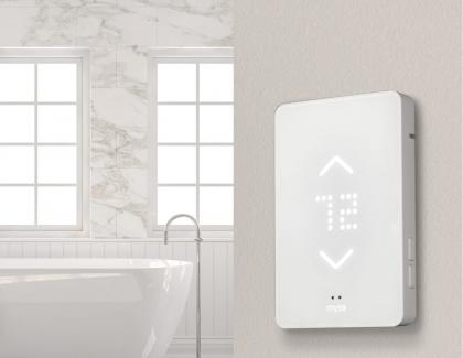 WarmlyYours Mysa WiFi Thermostat Lifestyle Close Up