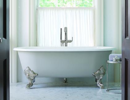 Kallista clawfoot standalone tub