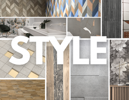 the styles of ceramic tile at cersaie 2021