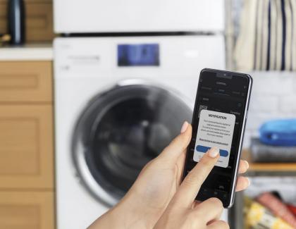 Smart Washer Dryer Stackable Duo