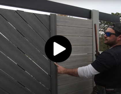 How to build a bar with a privacy wall on a deck