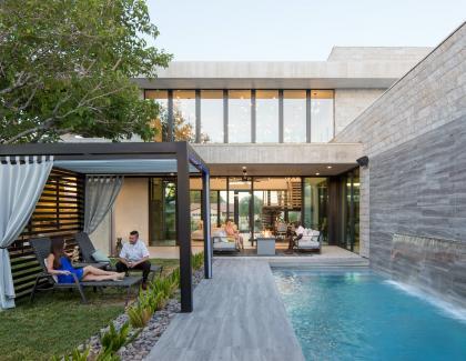 outdoor cabana modern