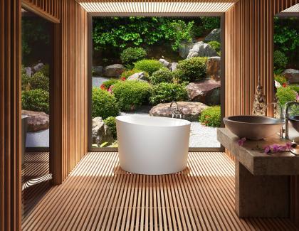 small circle tub