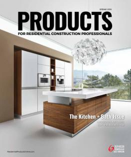 Products magazine for Spring 2016