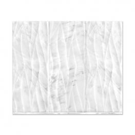 Rush River Stone Studios Hampton Engraved Marble wall tile