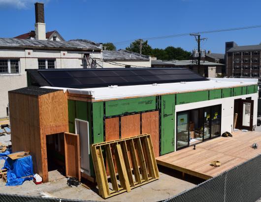NU Solar Home exterior