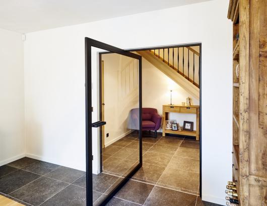 Anyway Door stalen deur concept skd47 4 pivot door, door pivot, pivot hinge