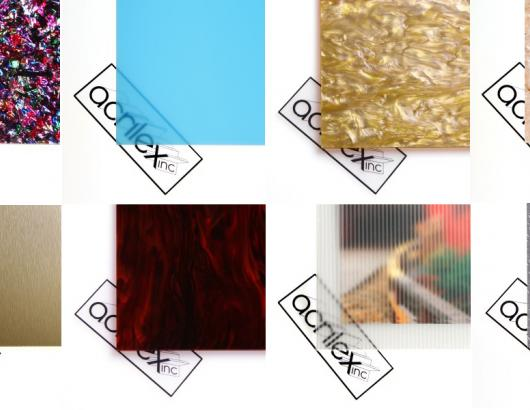 Acrylic sheets manufacturer Acrilex has launched a new online factory store that allows contractors to buy the company's specialty and one-of-a-kind colored acrylic materials in small quantities and with no minimum purchase.