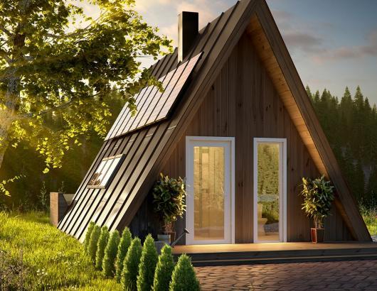 Avrame A-Frame Housing Kits Duo exterior