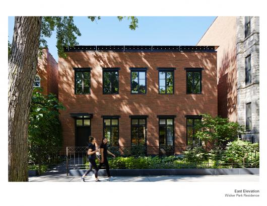 BIA Awards Wicker Park Residence Wheeler Kearns Front