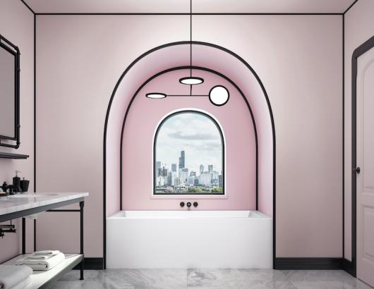 Bain de Ville Alcove Tub