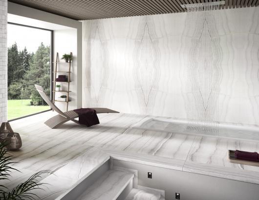 Barcelona onyx floor tiles porcelain