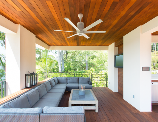 Big Ass Fans i6 Ceiling Fan White Outdoor