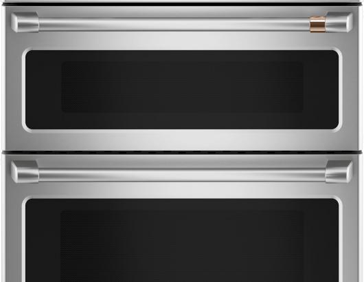 CAFE Stainless range copper accent