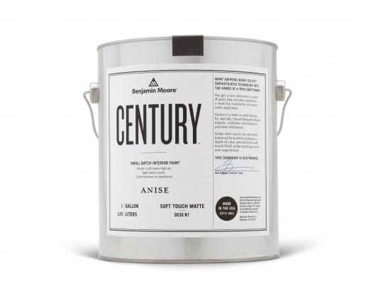 Paint manufacturer Benjamin Moore says its new series, Century, is a curated collection of brand new colors that also offers the first Soft Touch Matte finish.