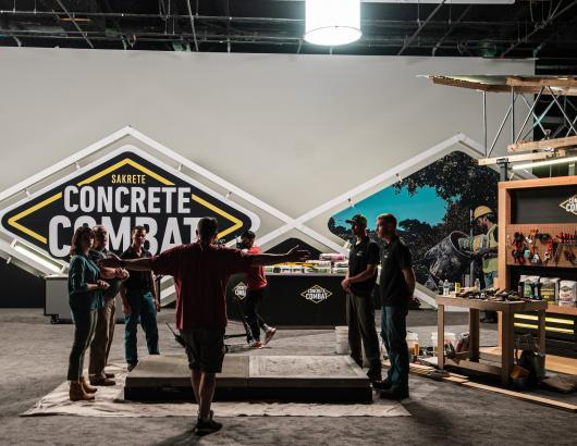 concrete combat