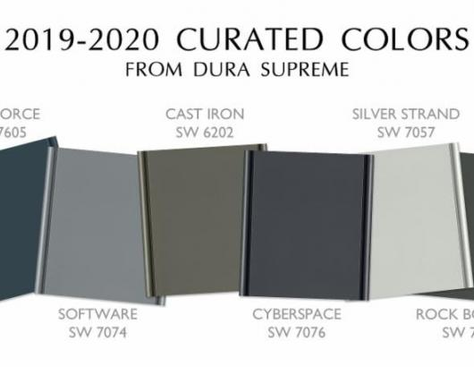 Dura Supreme new Curated Color cabinet Collection doors
