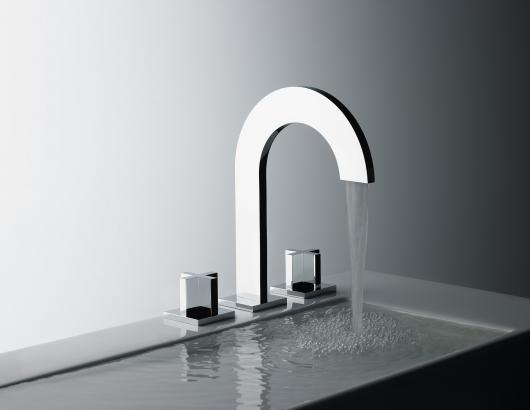 Franz Viegener Edge faucet with cross handles