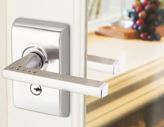 Door hardware manufacturer Emtek has introduce a new keypad-integrated lever that offers Bluetooth connectivity as well as a cleaner, more modern look compared to other products on the market.