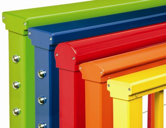 Cable Rail manufacturer Feeney has introduced a new collection of boldly colored products that allows homeowners to create a one-of-a-kind indoor or outdoor space.
