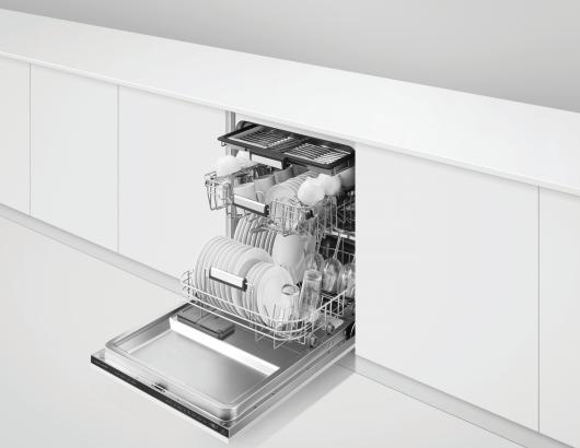 Fisher and Paykel Series 7 DishWasher open