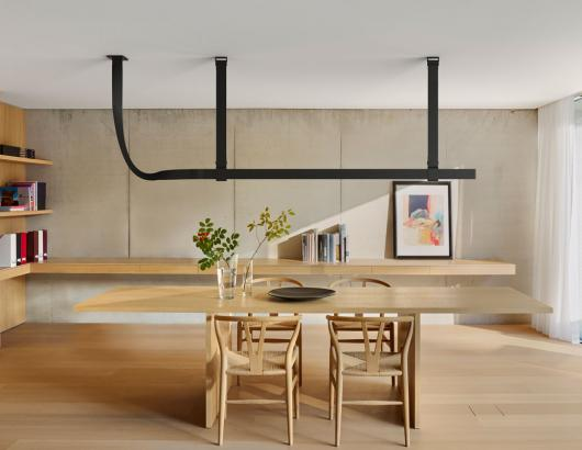 Flos Belt Black Bourullec project living room