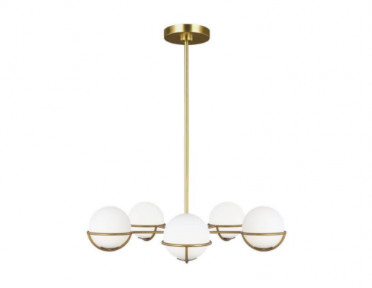 Generation Lighting ED Ellen DeGeneres Apollo 5 Chandelier