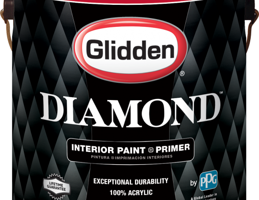 Diamond is an interior paint and primer that the company says delivers outstanding durability at an incredible value. The 100-percent-acrylic premium paint and primer in one saves painting contractors on application time and, because it costs less than $25, saves money, too. Low-odor and zero-VOC, it's available in flat enamel, eggshell, semi-gloss, and satin finishes.