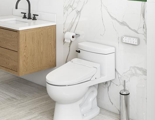 ICERA S-11 iMuse Electronic Bidet Seat Medium Shot