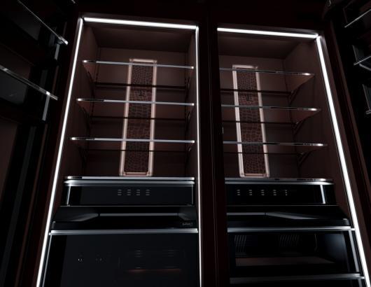 JennAir Burlesque Refrigerator in Brown