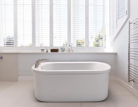 MTI Baths has added an easy-to-install, freestanding bathtub design to its affordably priced collection of tubs.