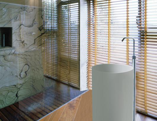 Halo pedestal MTI sinks for small bathrooms