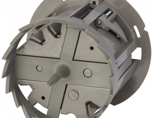 Madison Electric Shark Tooth Roound Junction Box