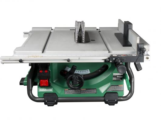 Metabo HPT 36V MultiVolt Corded Cordless Table Saw Closed