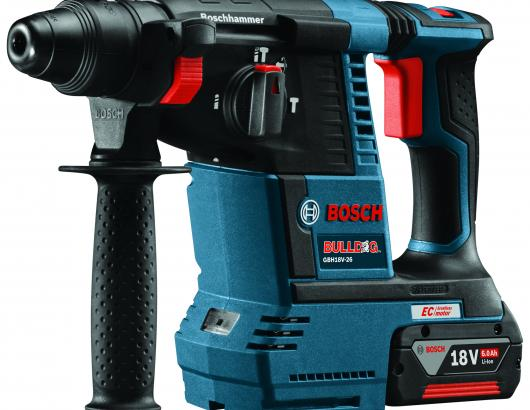 L-shaped rotary hammer from Bosch Power Tools