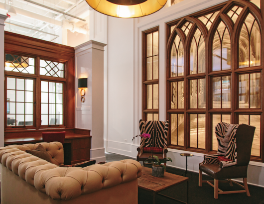 Pella windows at Chicago's Merchandise Mart