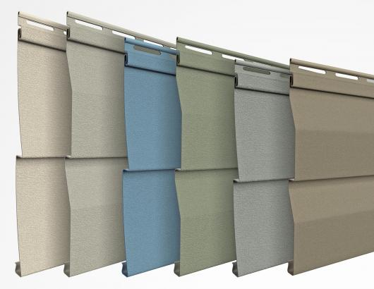 ProVia Willowbrook Vinyl Siding panels colors