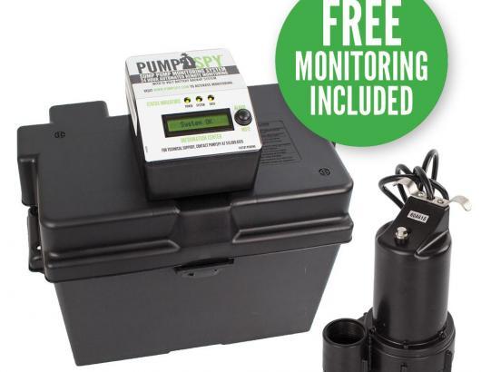 PumpSpy sump pump monitor