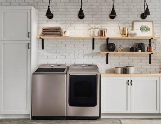 Samsung Champagne Finish Top Load Laundry