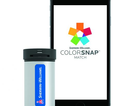 Sherwin Williams ColorSnap Match portable color matching iPhone Device