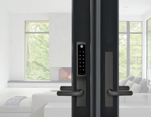 Smart home door locks