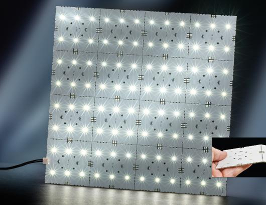 Snap Panel lighting by Tresco