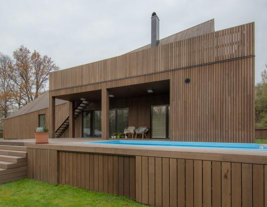 19 Thermory Cladding Ash Installation Modern House