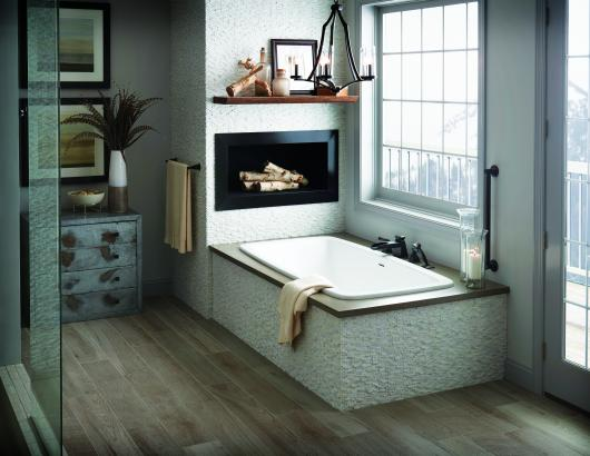 AQUATIC Curve7236C Serenity54 Bath Tub Beauty shot